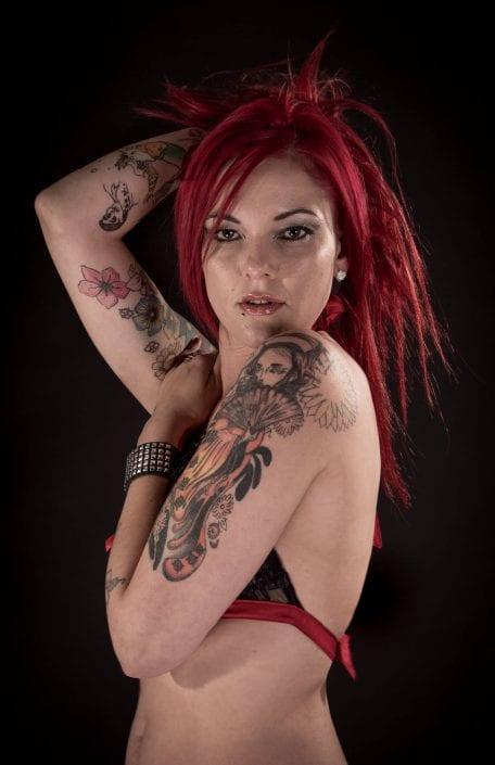 Alternative - Red hair Kat Von Tease