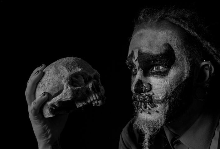 Alternative - Face paint scull