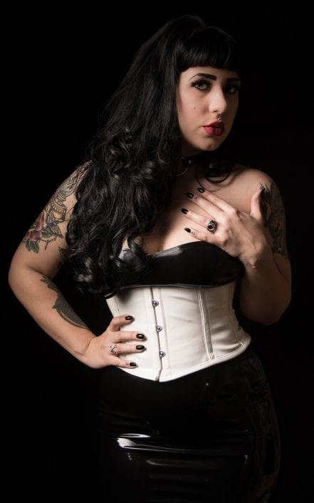 Alternative - Cherry desire corset