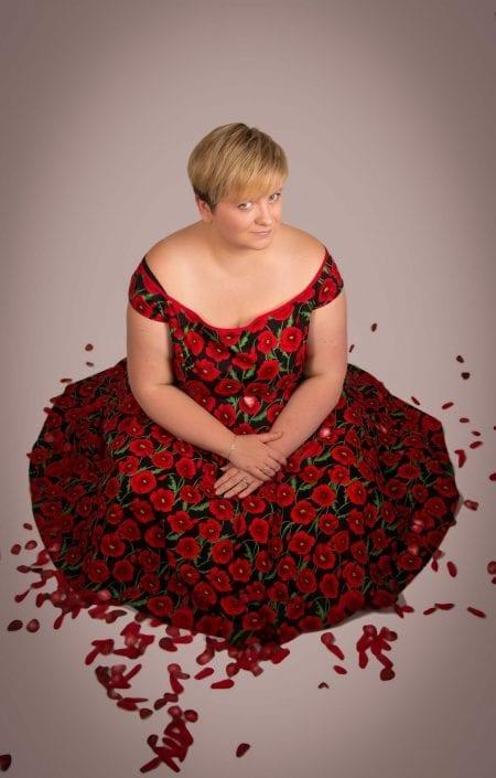 portrait photography rockamilly fashion plus size