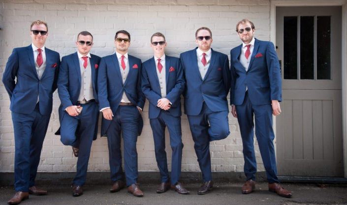 Wedding photography - Groomsmen in shades