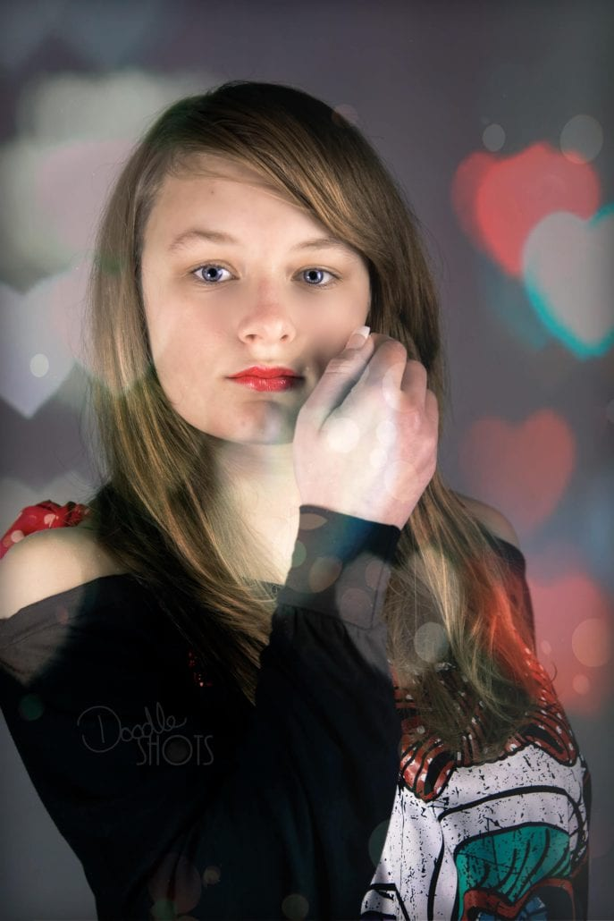 portrait photography rockamilly hearts