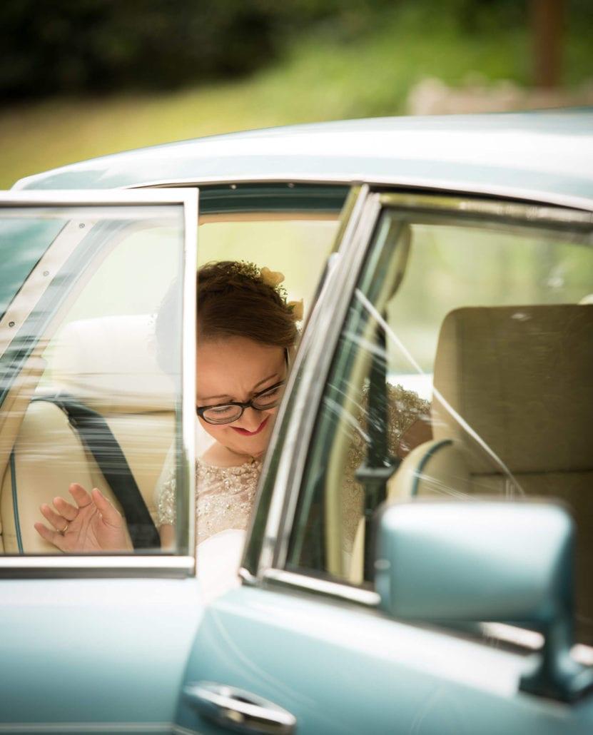 Wedding - Car, Bride