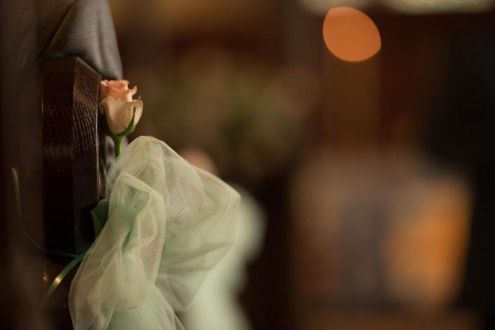 Wedding - Church detail