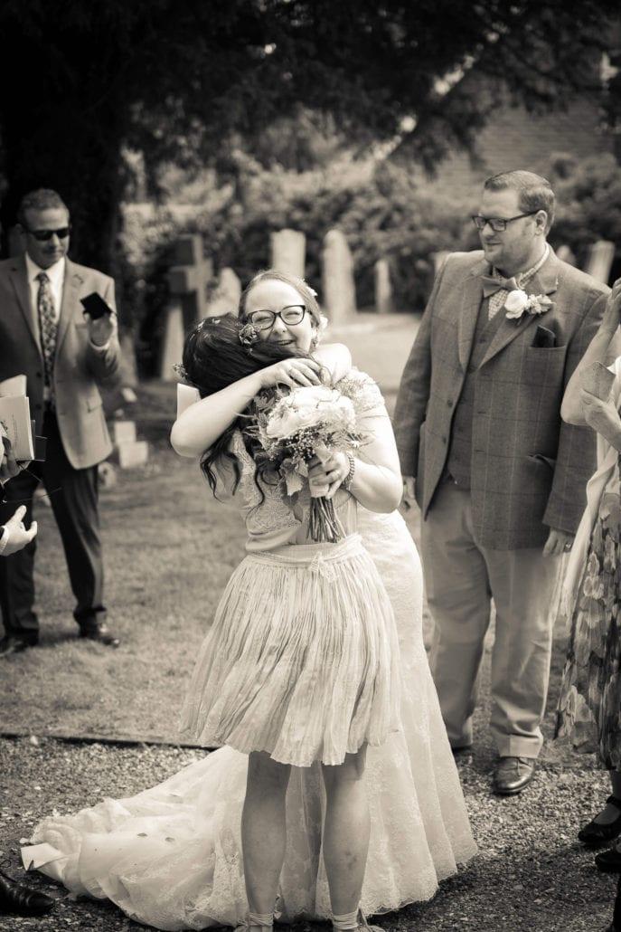 Wedding - Hug