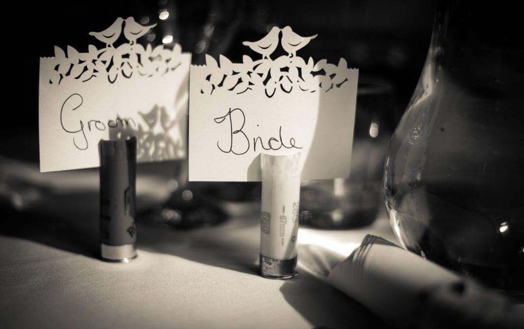 Wedding - Shotgun cartridge